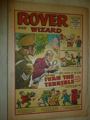 Comic- THE ROVER and WIZARD - 20th January 1968