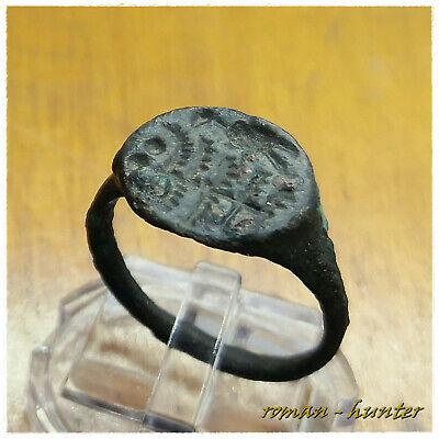 """ Aquila - Eagle ""  Ancient Bronze Roman  Ring!!!!Legionary!!!!"