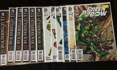 DC Comics GREEN ARROW  #26-52 including annual#1 and Harleys little black book