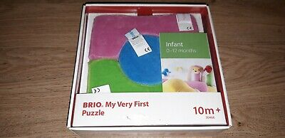 Brio My Very First Puzzle Baby Toy 10 Month Plus New In Packet FREE UK POST