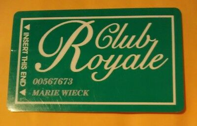 Royale Casino Las Vegas Nevada Vintage Vault Slot Card Great For Any Collection!