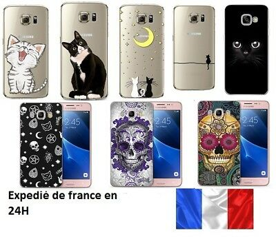 coque chat galaxy s8