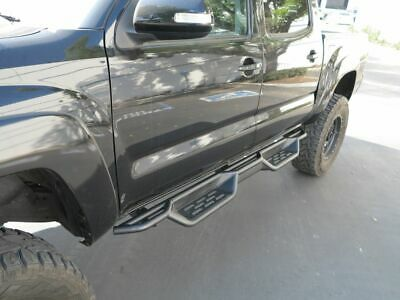 """7.5"""" Nerf Bars for 05-19 Toyota Tacoma Double/Crew Cab Side Steps Running Boards"""
