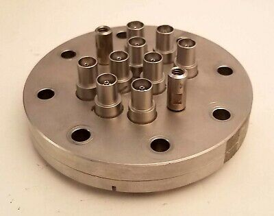 "MDC vacuum products 5"" Multipin Feedthrough Flange"