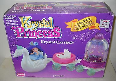 #4272 NRFB Playskool Krystal Princess Krystal Carriage Accessory