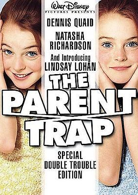 The Parent Trap (DVD, 2005, Special Double Trouble Edition) W/SCENE INSERT
