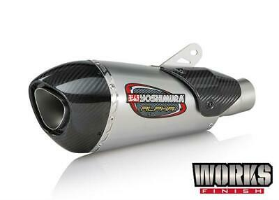 Yoshimura Alpha T Slip On Exhaust Titanium Bmw S1000Rr S1000 Rr 2018