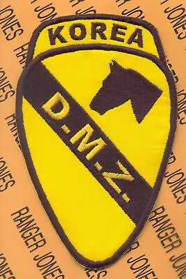 US Army 1st Cavalry Division KOREA DMZ tab patch
