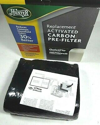 """COMPATIBLE HUNTER 30901 16/"""" X 30/"""" REPLACEMENT ACTIVATED CARBON PRE-FILTER"""