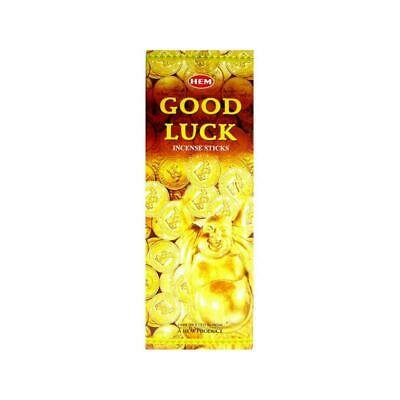 HEM Good Luck Incense Sticks - 200 Sticks - Bulk Pack - Made In India