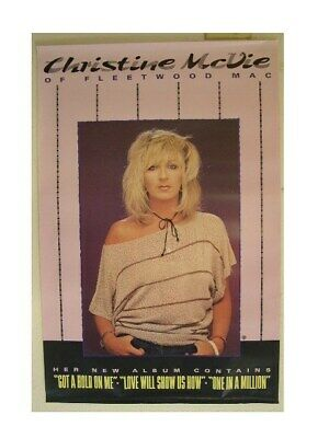 Christine McVie Poster Fleetwood Mac Old