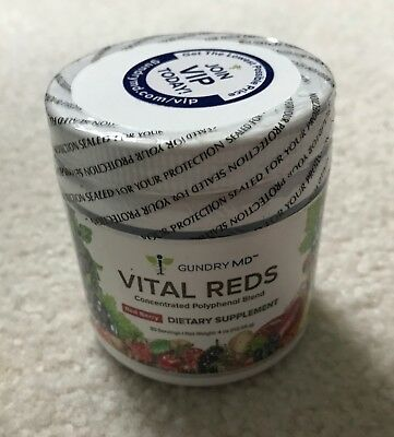 Vital Reds Polyphenol Metabolic Boost Digestive Support Dietary Supplement 30 Se