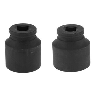 Black-12 Point Deep 3/4 inch Drive Impact Socket for Cars (50x70mm+70x60mm)