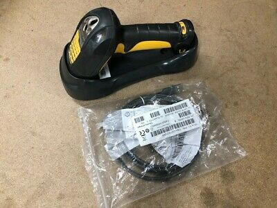 Motorola Symbol LS3478-FZ2005WR Wireless Barcode Scanner with Cradle & Cable