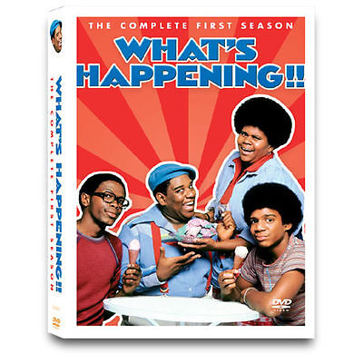 What's Happening - The Complete First Season (DVD, 2004, 3-Disc Set) Col * NEW *