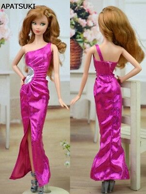 "Kids Toy Doll Clothes Dress Sleeveless Long Party Evening Dress for 11.5"" Doll"