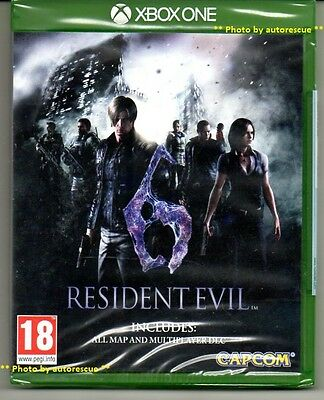 Resident Evil 6 HD inc. ALL MAP + MULTIPLAYER DLC 'New & Sealed' *XBOX ONE (1)*