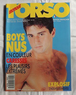 Torso n°5 janvier 1988 - Male nudes-Gay Interest