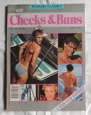 Playgirl classics vol6 n°4 april 1986  - Male nudes-Gay Interest