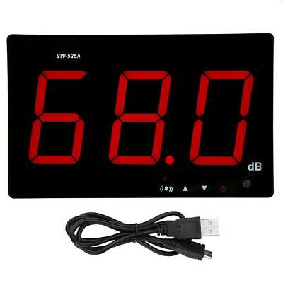 SW-525A LCD Digital Wall Mounted Sound Level Meter USB Measuring range 30-130dB