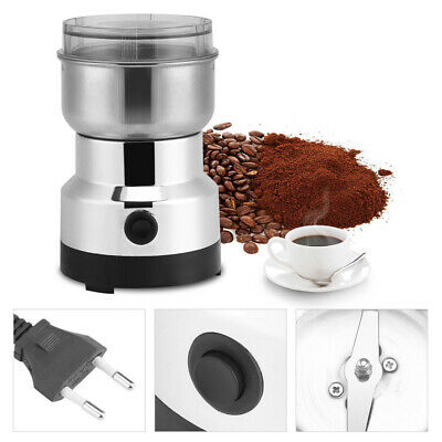 AU Electric Coffee Grinder Grinding Milling Nut Bean Spice 220V Matte Blender