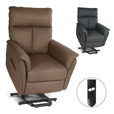 Leather Rocker Recliner Chair With Heat and Massage Sofa Lounge Swivel Remote
