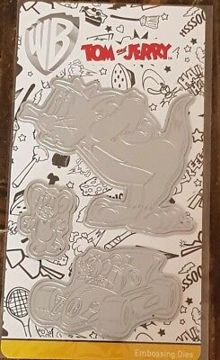 TOM AND JERRY embossing metal dies *new & sealed* - £4 95 | PicClick UK
