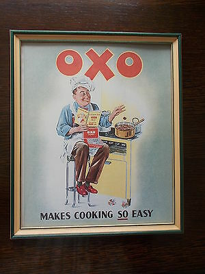 Retro OXO Ad ( Framed )