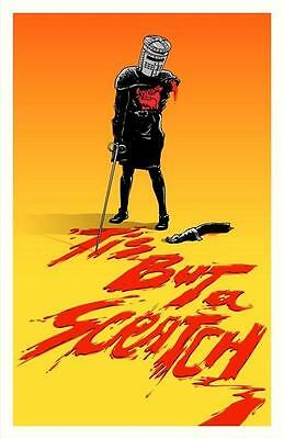 14 Monty Python And Holy Grail Tis But A Scratch! Movie Poster #/50 Budich Mondo