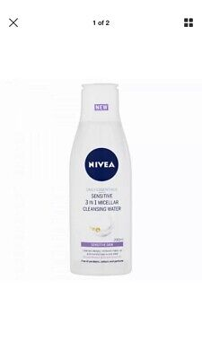 Nivea Sensitive 3 In 1 Micellar Cleansing Water. New