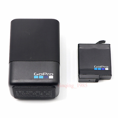 New Original GoPro AABAT-601 Batteries + Dual Charger for GoPro HERO5 , 6 ,7