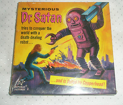 Mysterious Dr. Satan Black White Silent SF-1 Super 8mm [Nuevo y Precintado]