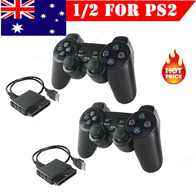 For PS2 PlayStation 2 Wire Cable Controller Dual Shock Gamepad Console Joypad AU