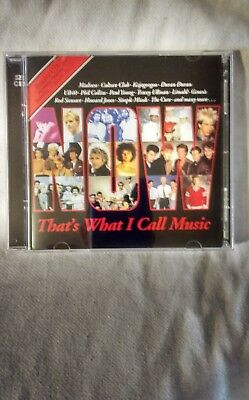 Now That's What I Call Music  Volume 1 Cd 2018 Repress New But Not Sealed