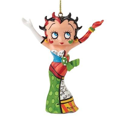BETTY BOOP WITH PUDGY  ** NEW *GIFT  BOX * ROMERO BRITTO BETTY BOOP ART PLAQUE