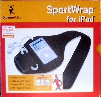 Xtreme Mac Sport Wrap for iPod Black