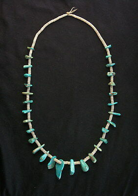 Antique Navajo Turquoise Necklace