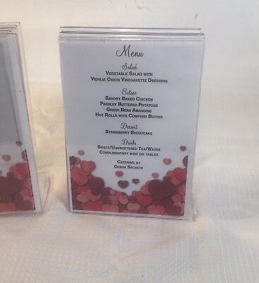 Clear Frame 5x 7 Display Advertisement Set of 11