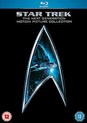 Star Trek - The Next Generation Movie Collection (Blu-ray) *BRAND NEW*