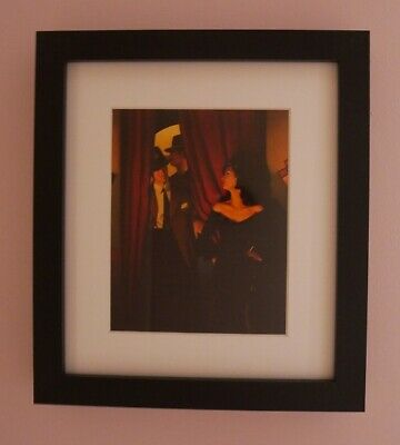 The purple cat - small framed print - Jack Vettriano
