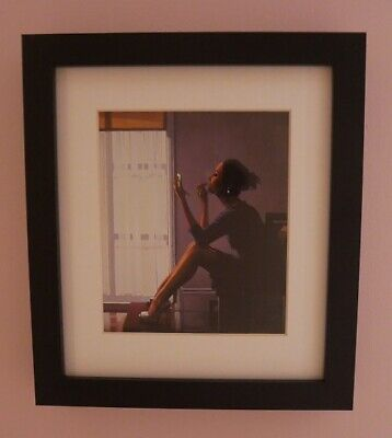 Only the Deepest Red II - small framed print - Jack Vettriano