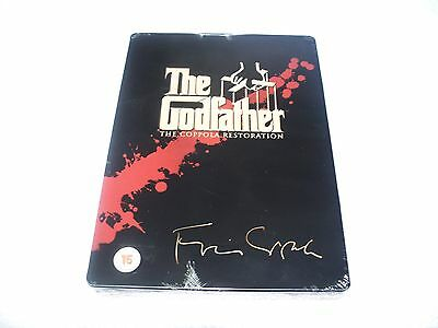 The Godfather Trilogy: The Coppola Restoration - Play.Com 5-Disc DVD Steel Book