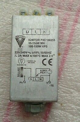 D L N Parmar Ignitor Pxe 100235 220/240V