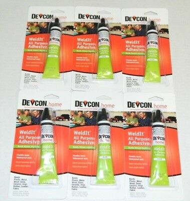 Devcon 18245 Home Weldit All Purpose Adhesive 1 Oz Adhesives, Sealants & Tapes High Strength Adhesive Business & Industrial