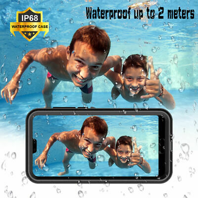 For Huawei P20 Pro Lite 360° IP68 Sealed Waterproof Armor Case Shockproof Cover