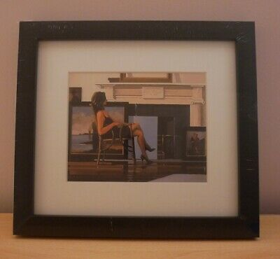 The Model and the Drifter - small framed print - Jack Vettriano