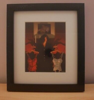 Heaven or Hell: The Sweetest Choice - small framed print - Jack Vettriano