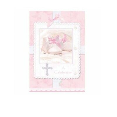 Girls Baby TINY BLESSINGS Christening Pink Tableware Decoration Invites Plates
