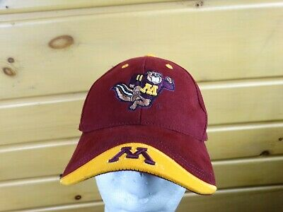 the best attitude b3e50 2a59e Minnesota Golden Gophers Cap hat Maroon Top Of The World Ncaa New