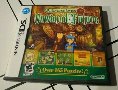 Professor Layton and the Unwound Future, Nintendo DS, Condition - NRMT, Complete
